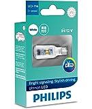 Philips Ultinon LED T16 W16W 12V White Wedge globe
