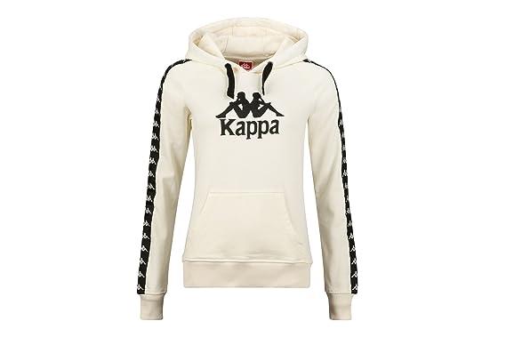 608981ab Kappa Women's Hoody Twenny, Size:L, Color Vanilla: Amazon.co.uk ...