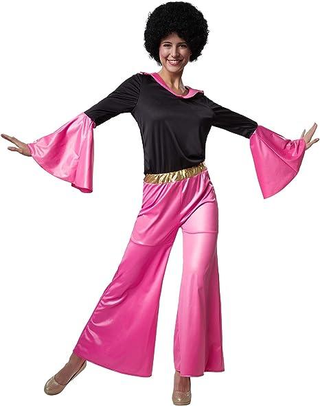 dressforfun 900500 - Disfraz de Mujer Estrella de Discoteca, Traje ...