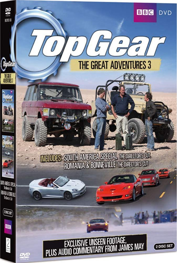 Top Gear - The Great Adventures 3 [Reino Unido] [DVD]: Amazon.es: Jeremy Clarkson, Richard Hammond, James May, Jeremy Clarkson, Richard Hammond: Cine y Series TV