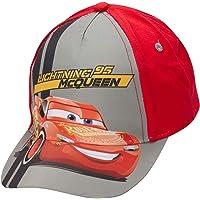 Disney Boys Cars Lightning McQueen Cotton Baseball Cap