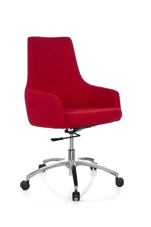 Sillón de oficina giratoria Shake 100 Plástico de Estilo Moderno Lounge con asiento, lordosis,