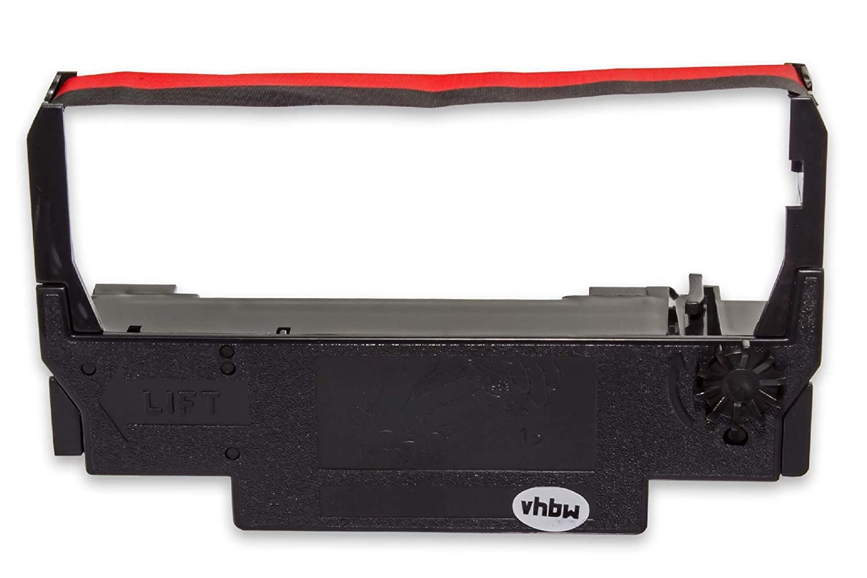 vhbw 10x Farbband Nylonband Tintenband fü r Nadeldrucker Sharp ER 3210 Wie ERC-38 B/R, ERC-30, ERC-34