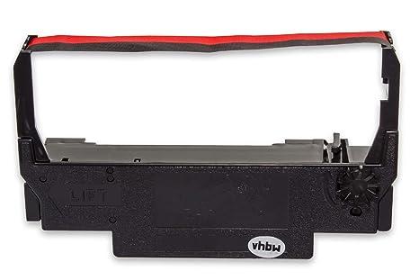 vhbw Cinta de Tinta mecanográfica de Nailon para Impresora matricial/Agujas Hyundai HD 7000 reemplaza