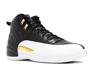 TOPDAN Air Jordan 12 Retro Wings Black Metallic Gold White Basketballschuhe  Herren Donna: Amazon.de: Schuhe & Handtaschen