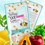 Foot Peel Mask, Sense of Care Foot Peeling Mask Pack 0.68fl.oz / 20ml Exfoliating and Moisturizing, Removing Calluses, Smooth