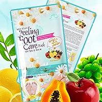 Foot Peel Mask, Sense of Care Foot Peeling Mask Pack 0.68fl.oz / 20ml Exfoliating and Moisturizing, Removing Calluses…
