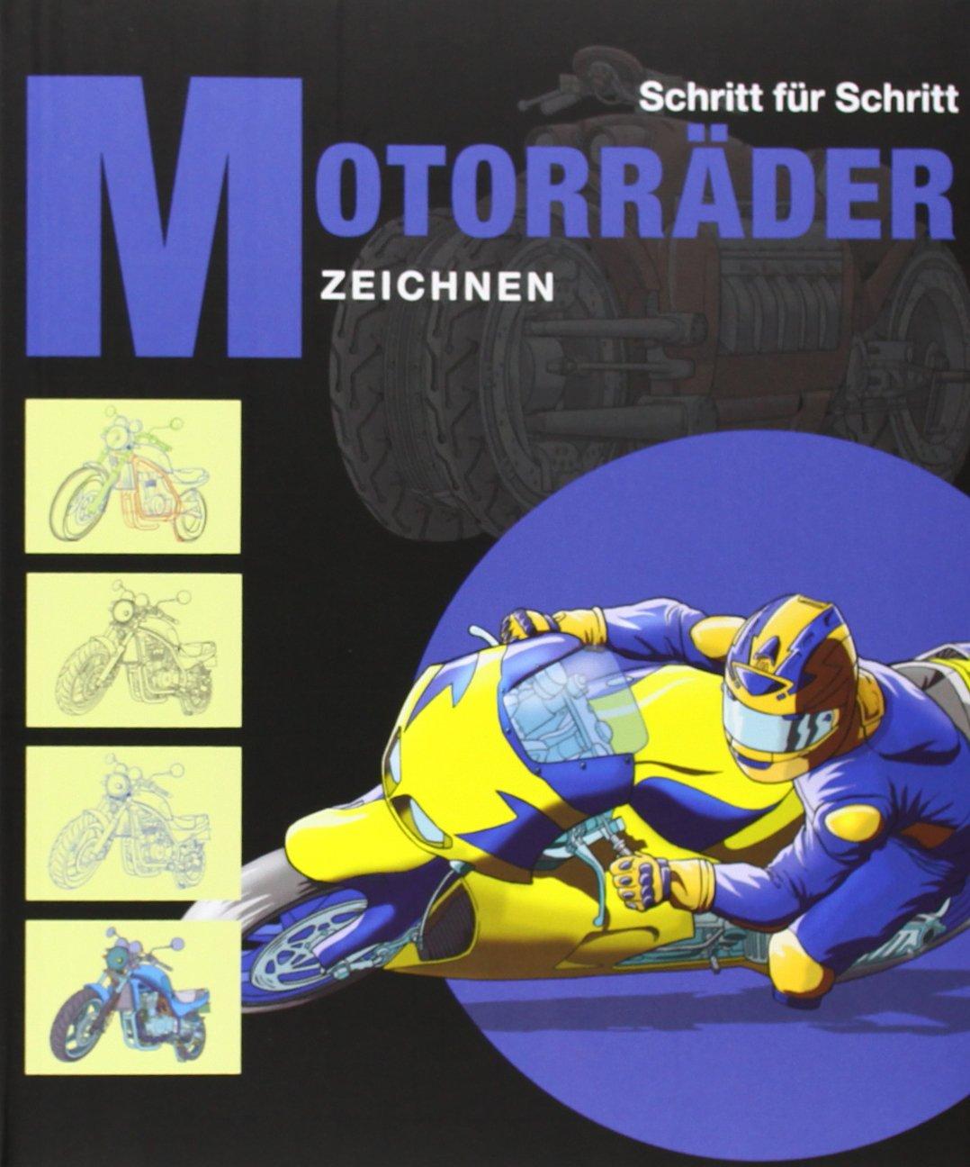 Motorräder zeichnen: Schritt für Schritt