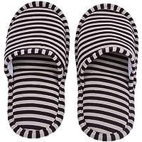 Dilwe Pantofole Interne, Pantofole Antiscivolo in Cotone Confortevole ed Hotel Eva con Custodia per Uso Interno per Uomo/Donna