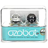 【日本語説明書付き】Ozobot(オゾボット)2個セット(ブラック&ホワイト)子ども向けプログラミング教材ロボット [並行輸入品]