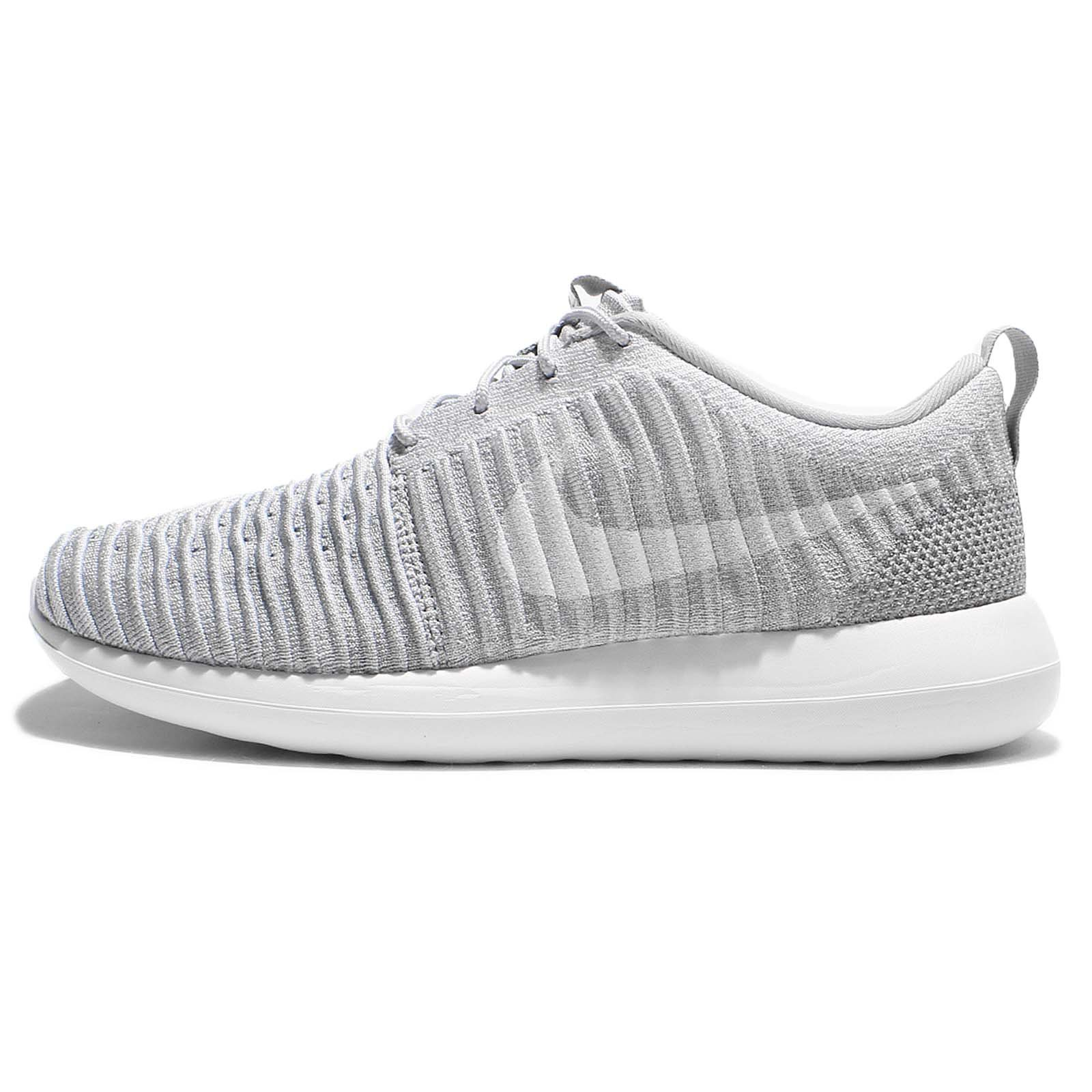 promo code 8cb0f 72174 Galleon - Nike Roshe Two Flyknit Mens Running Trainers 844833 Sneakers Shoes  (UK 7.5 US 8.5 EU 42, Wolf Grey Whie Stadium Green 008)
