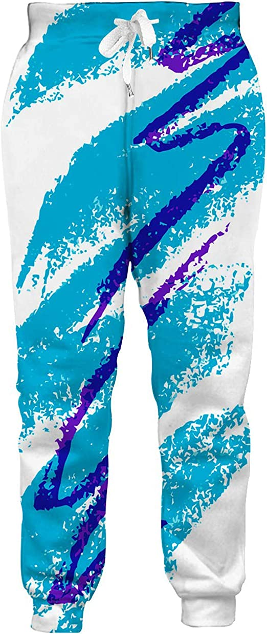 Fashion Womens//Men/'s American Flag USA Graphric 3D Print Casual Trousers Pants