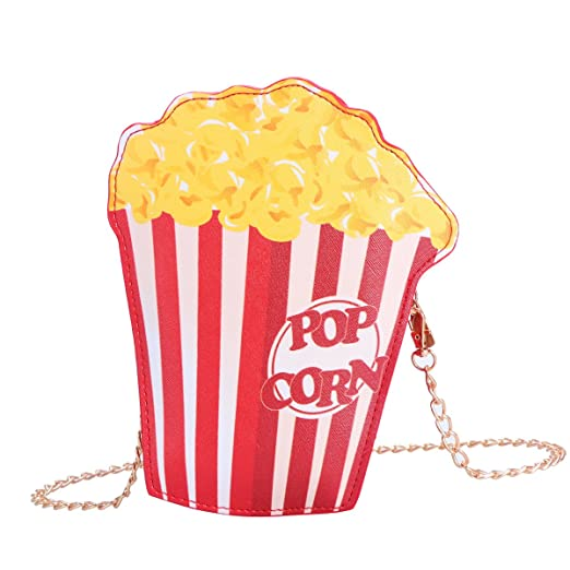 f4bd96a882 Image Unavailable. Image not available for. Color  OULII Popcorn Chain  Handbag Purse Woman Crossbody ...