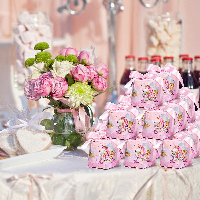 Geschenk Einladung Fest Party Schmuck L MOOKLIN 30 St/ück Hochzeit Gastgeschenke Geschenkboxen Papier S/ü/ßigkeiten Kasten Bonbons Freundentr/änenstricker Aufkleber f/ür S/ü/ßigkeiten