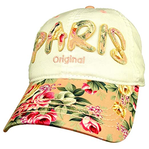 9d2b9d10077  Flowery Paris  Robin Ruth Women s Cap - Pink