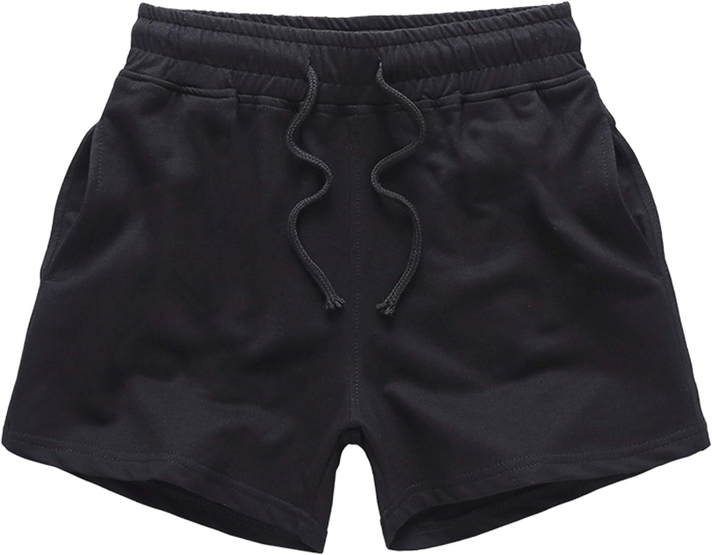 JackieLove Mens Joggers Sweat Gym Running Workout Athletic Shorts Lounge Shorts