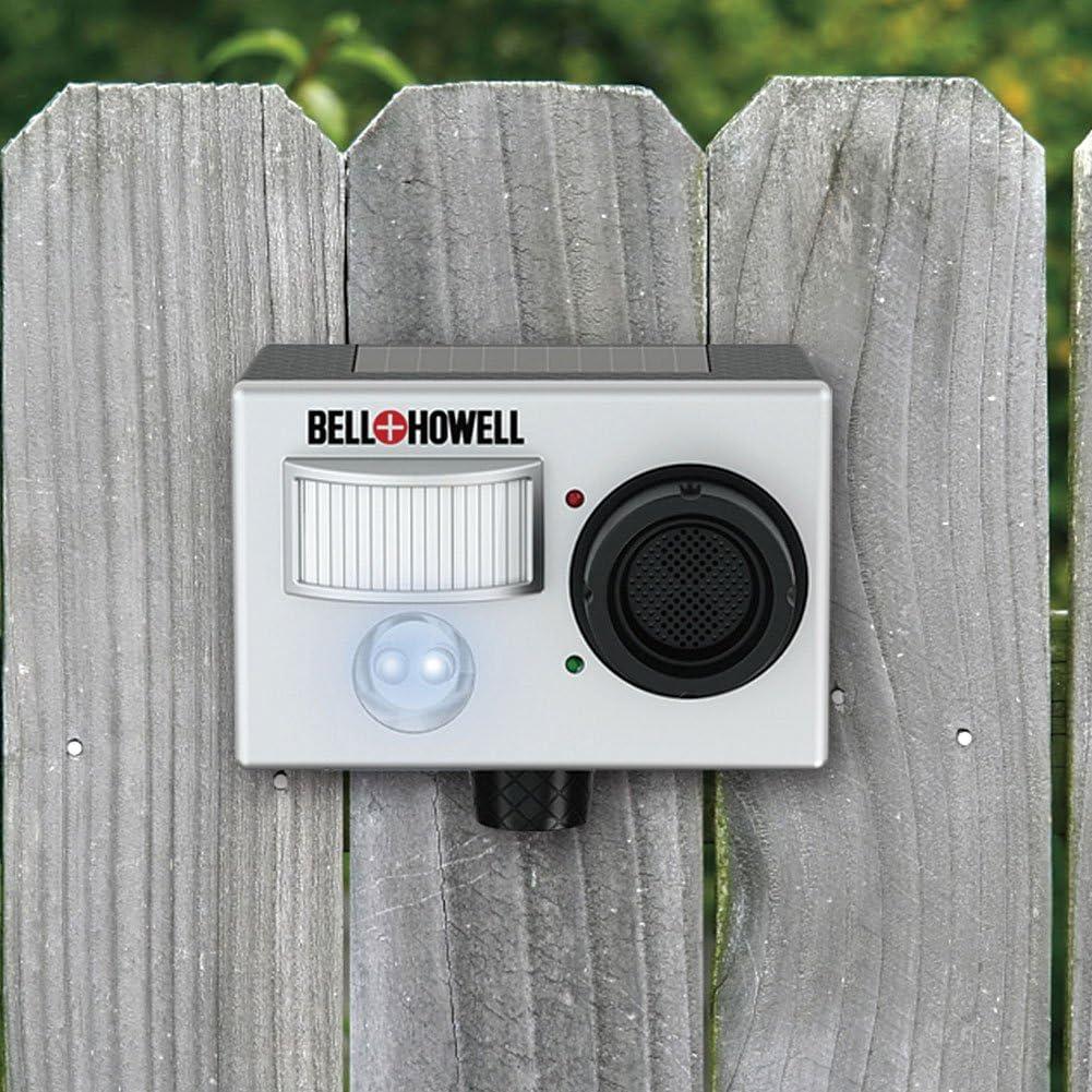 Bell & Howell 50122 BHSolarRepeller Bell + Howell Ultimate Garden Solar Animal Repe, Gray