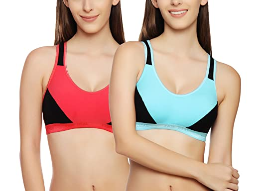95a082ad2a479 Image Unavailable. Image not available for. Colour  Innocence Racerback Sports  Bra