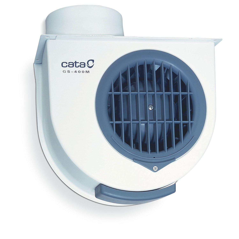 Extractor Cocina | Cata Gs 400 M Extractor Centrifugo De Cocina 60 W Color Blanco