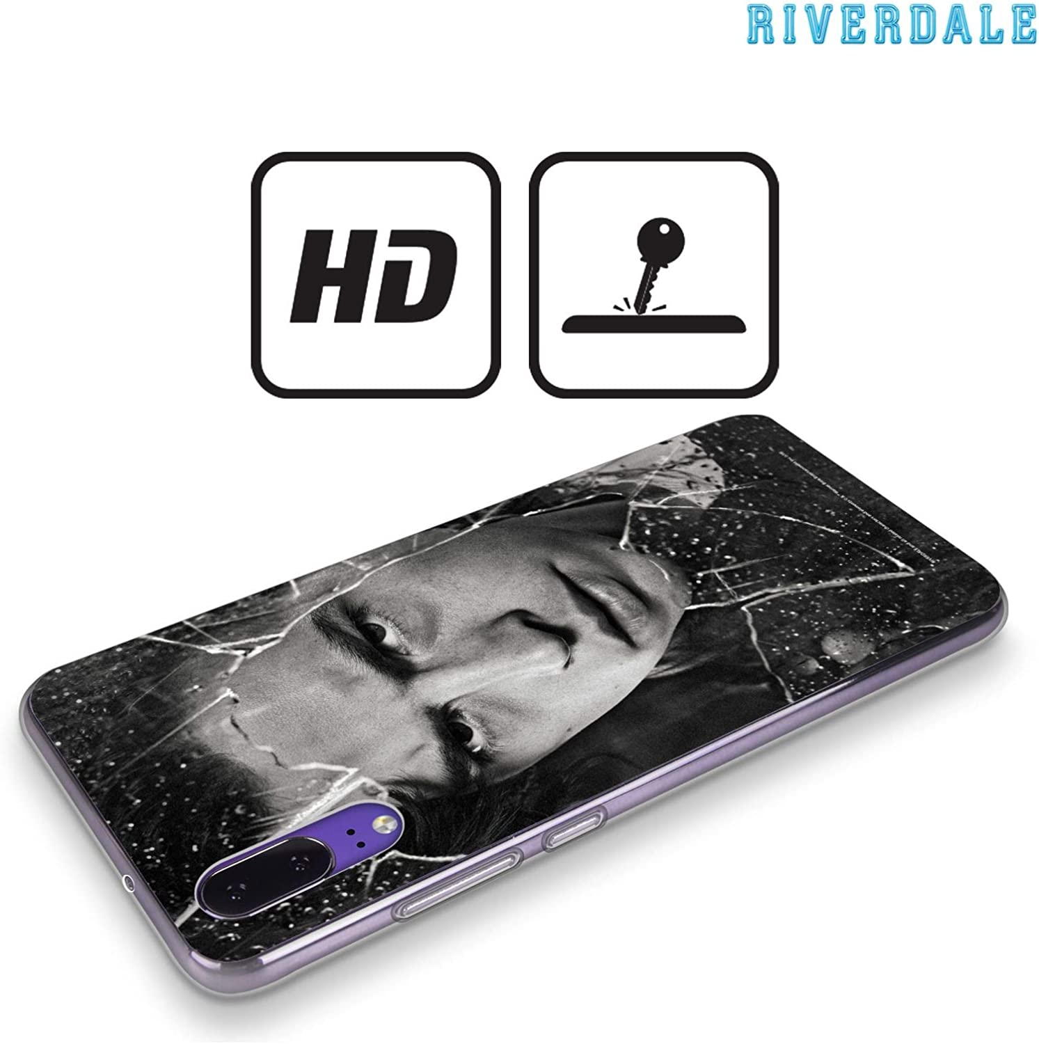 Official Riverdale Jughead Jones Broken Glass Portraits Soft Gel Case Compatible for Huawei P30 Lite/Nova 4e: Amazon.es: Electrónica