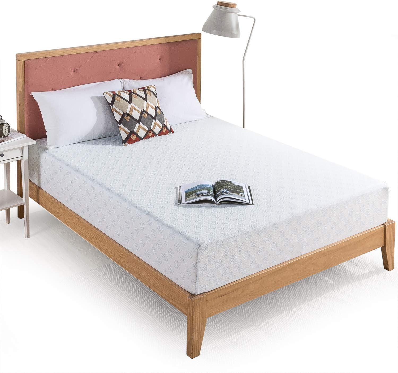 Zinus 10 Inch Gel-Infused Green Tea Memory Foam Mattress / Cooling Gel Foam / Pressure Relieving / CertiPUR-US Certified / Bed-in-a-Box, King