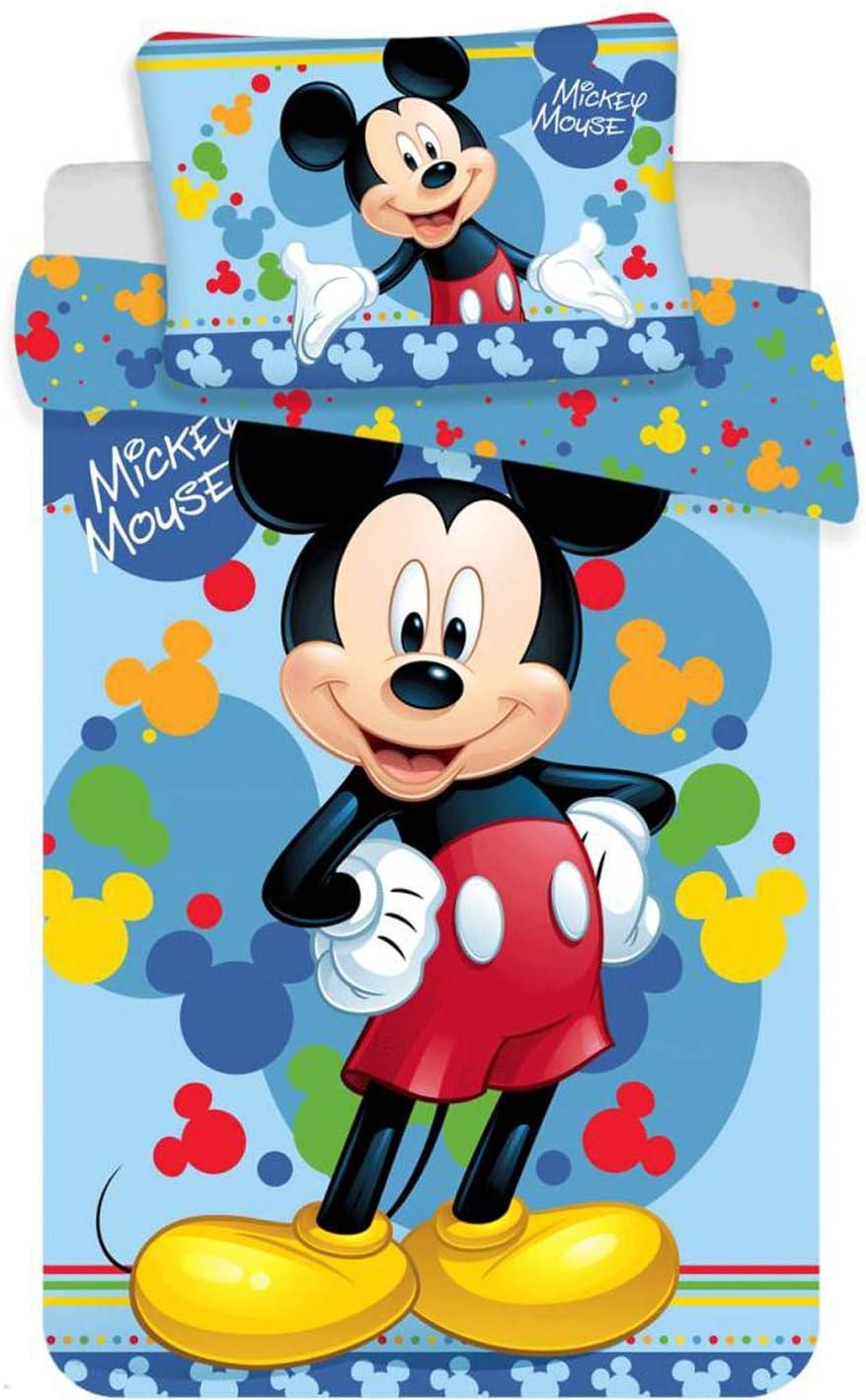 Disney - Juego de cama para bebé (135 x 100 cm), diseño de Mickey ...