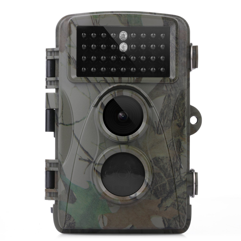 BEAN Cámara de caza Trail cámara, Explorador de rastro para la vida silvestre Cámara Scouting de 12MP 1080P HD con pantalla LCD de 2.3 pulgadas con visión ...