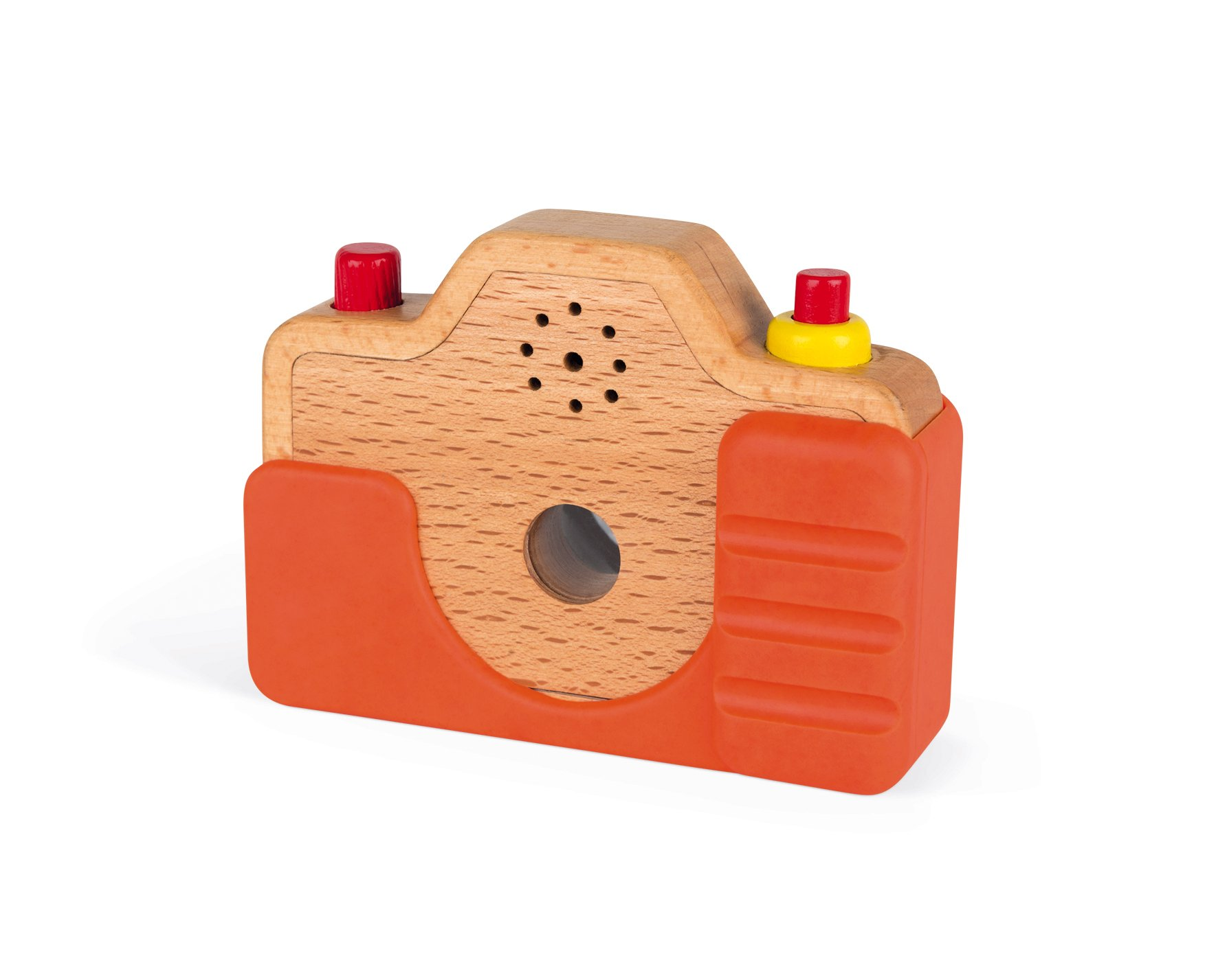 Janod Wooden Interactive Sound Camera Toy by Janod (Image #8)