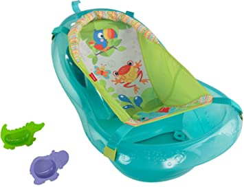 Amazon.com : Fisher-Price Bath Tub, Rainforest Friends : Baby ...