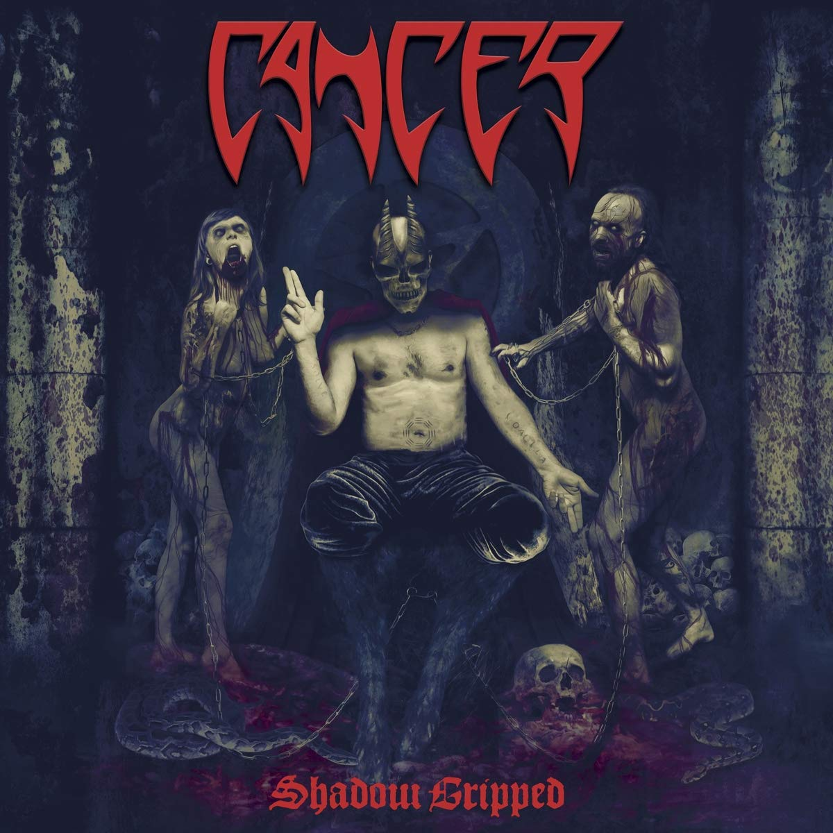 Vinilo : Cancer - Shadow Gripped (United Kingdom - Import)