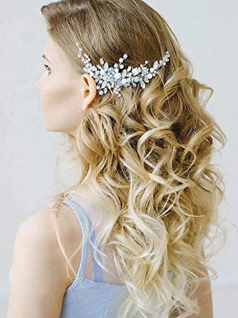 Bridal Hair Comb Wedding Hair Comb Accessories Headpiece Hair Jewelry Flower Cocktail Accessories