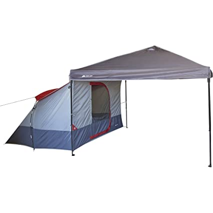 Amazon.com  Ozark Trail Connectent 4-Person Tent For Connecting to a Straight-Leg Outdoor Canopy  Sports u0026 Outdoors  sc 1 st  Amazon.com & Amazon.com : Ozark Trail Connectent 4-Person Tent For Connecting to ...