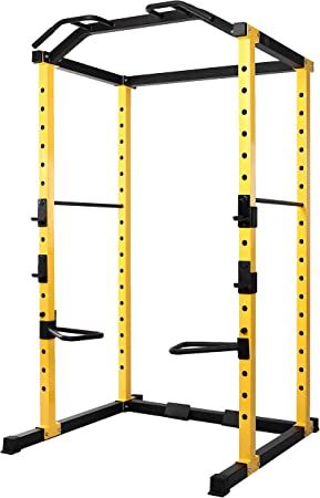 side facing hulkfit multi-function adjustable power cage