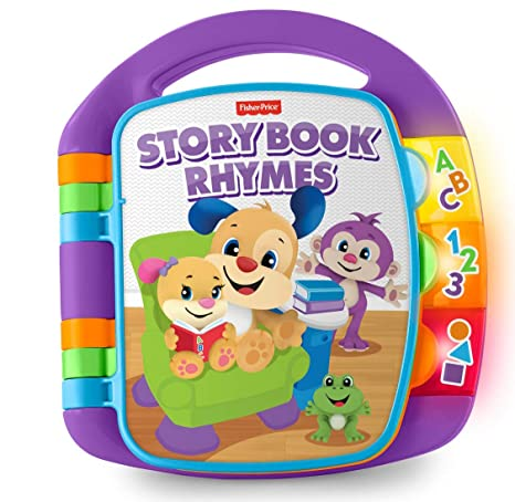 Fisher-Price Laugh and Learn Storybook Rhymes Book by Fisher ...