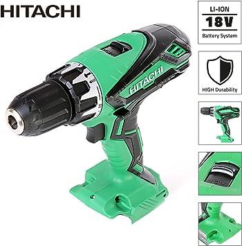 Hitachi DV18DSDL//L4 18V Combi Hammer Drill Bare Unit Cordless Body Only 2 Speed