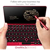 "[KOI Limit Edition] One Netbook 7"" One Mix 2S Yoga Pocket UMPC Ultrabook Windows 10 Portable Mini Laptop Intel Core M3-8100Y Touch Screen Tablet PC 8GB/512GB+2048 Level Stylus Pen Koi Limit Edition"
