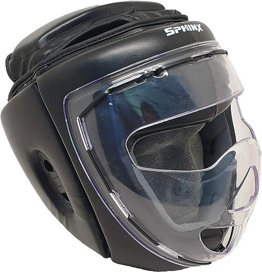 plexiglass Grill G5 HT SPORT Caschetto Sphinx prot.Totale griglia in plexiglass//Sphinx Head Guard Total Protection