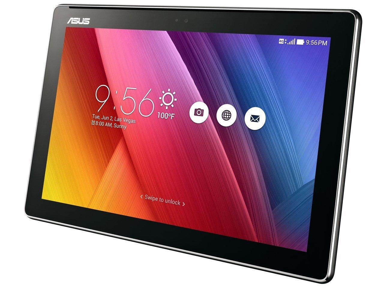 エイスース 10.1型タブレットパソコン ZenPad 10 SIMフリーモデル (ブラック) Z300CNL-BK16 B01I2IOHS2