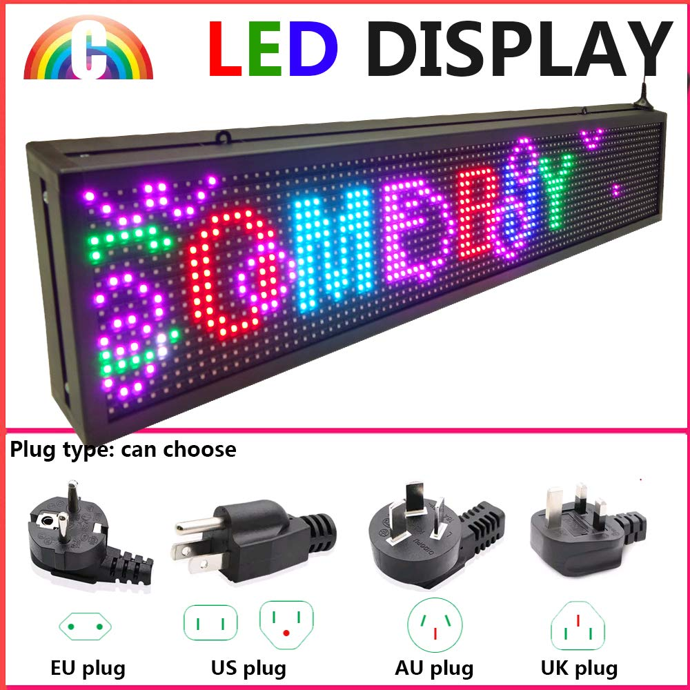 CT Colorful P10 Outdoor WiFi Scrolling Texts Messages Board led Sign by Color Trade (Image #4)