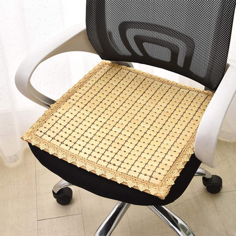 RYSB Chair Cushion,bamboo Breathable Cool Chair Pad,office Sofa
