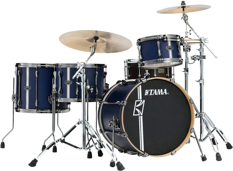 Tama Superstar HYPER-DRIVE Duo ml40hzbn2-sbv Satin Blue – Batería acústica 4 Fûts (sin caja clara): Amazon.es: Instrumentos musicales