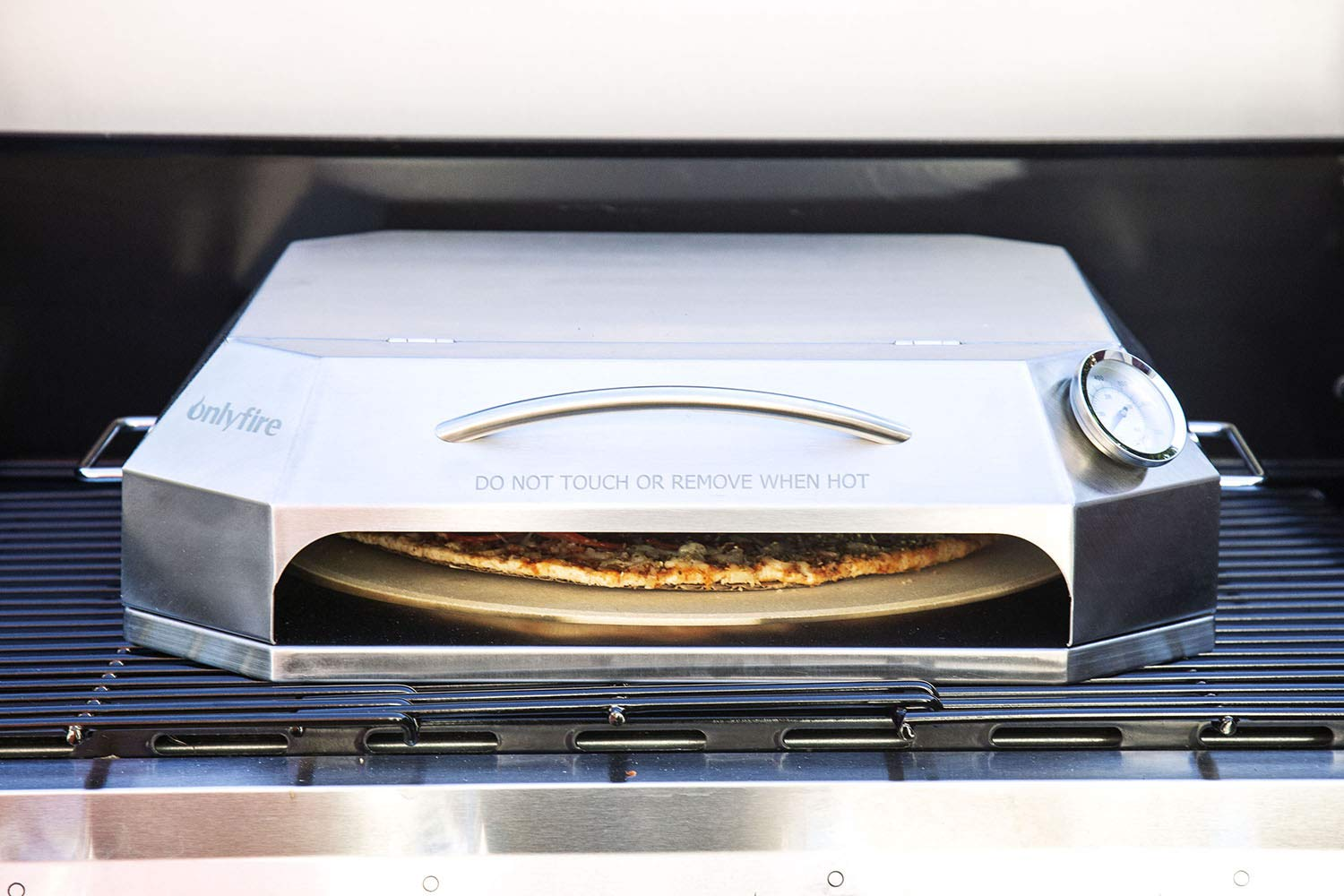only fire Universal Stainless Steel Pizza Oven Kit Fits for Any Gas Grilll by only fire (Image #7)