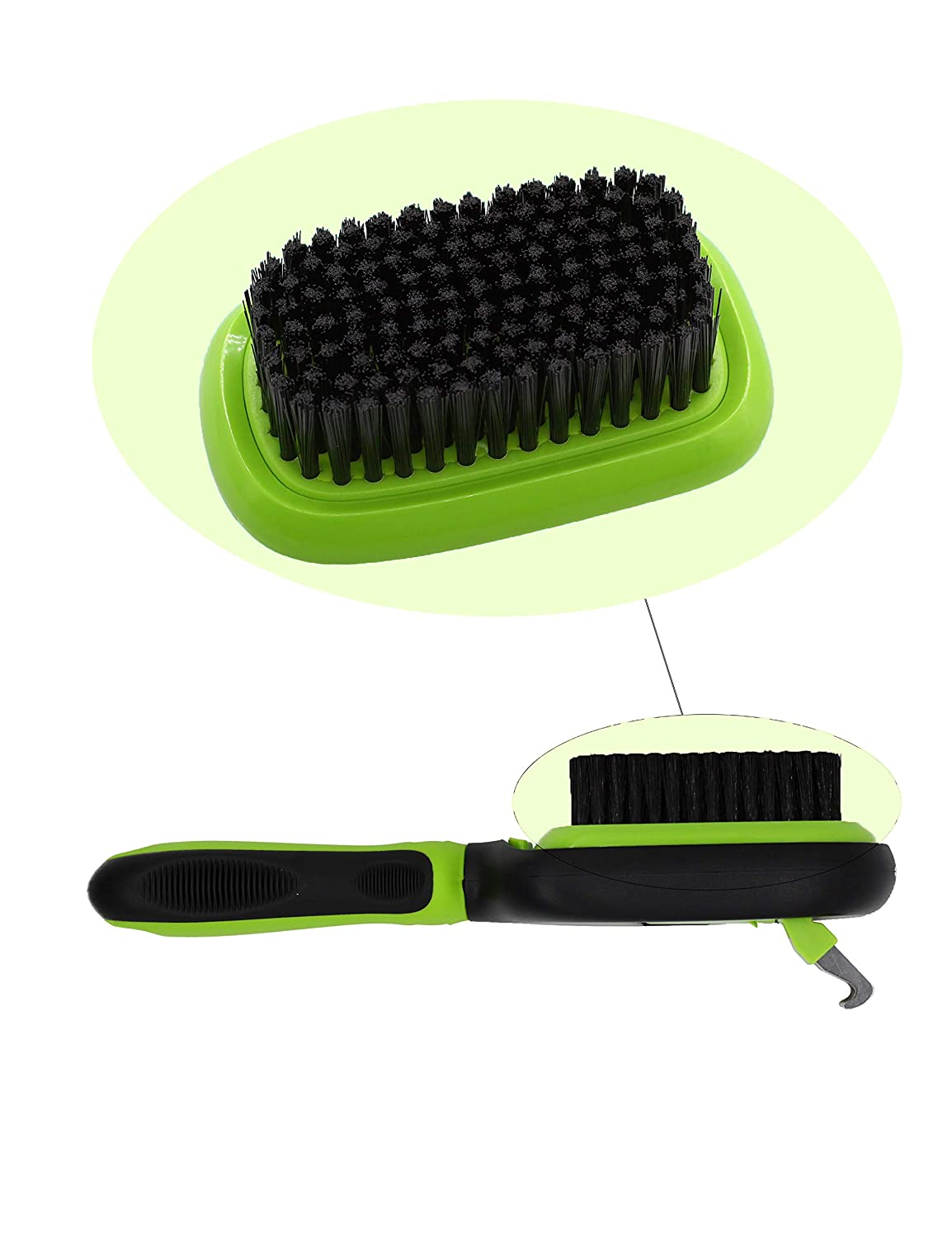 Cleaning Stubborn Mats and Tangled N A Dog Brush /& Cat Brush Pet Grooming Comb 5 in 1 for Fur Remove