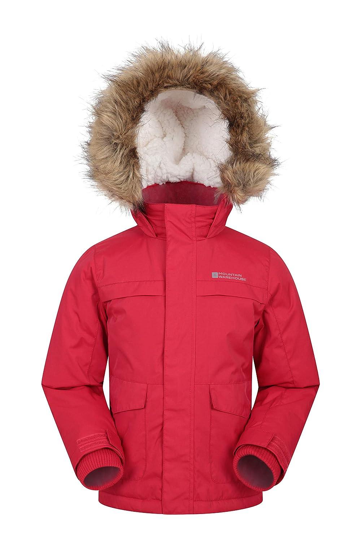 Mountain Warehouse Samuel Kids Parka Jacket - Warm Winter Jacket