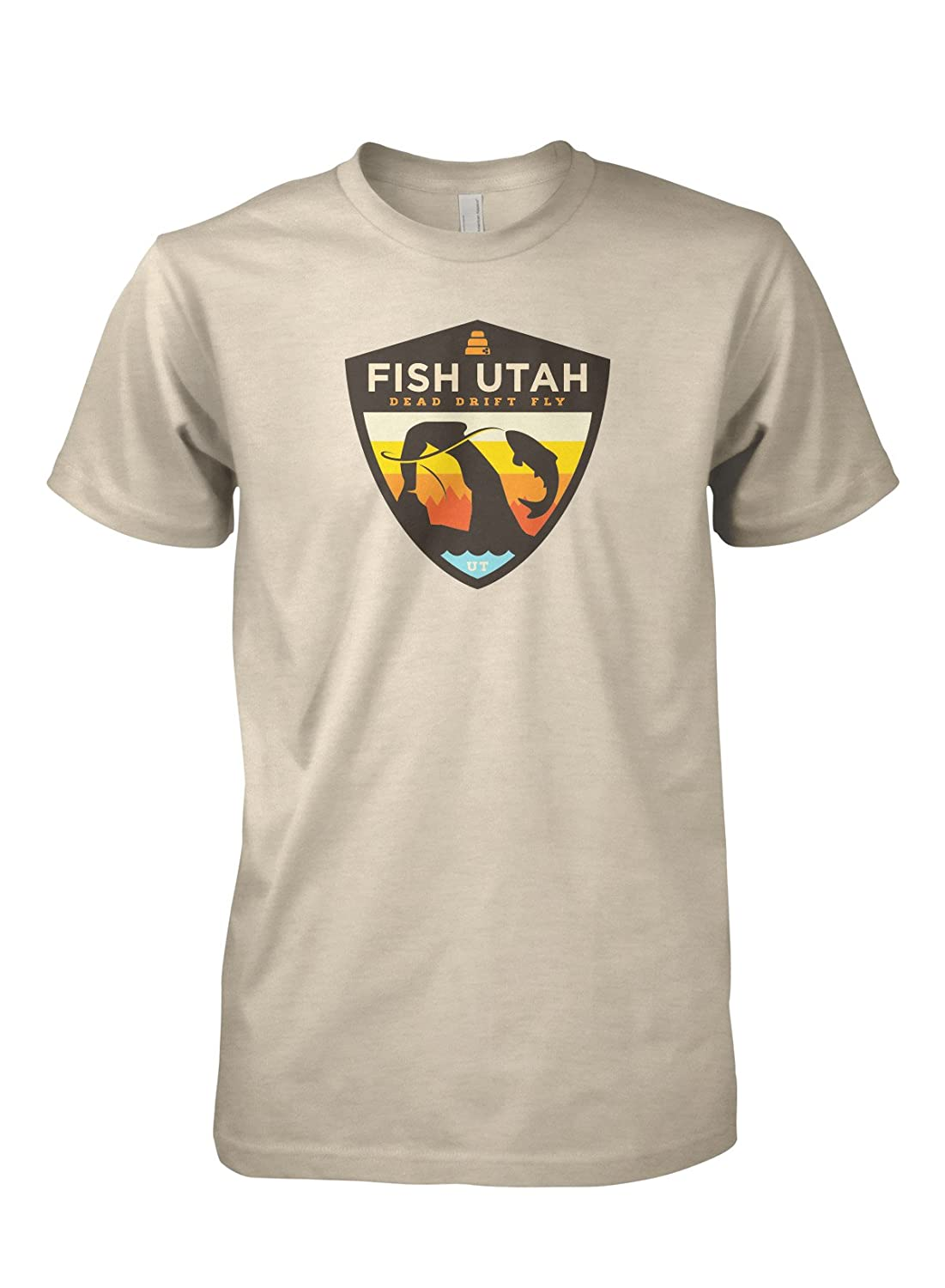 303b3a45f0bd5 Dead Drift Fly Mens Utah Fly Fishing Shirt