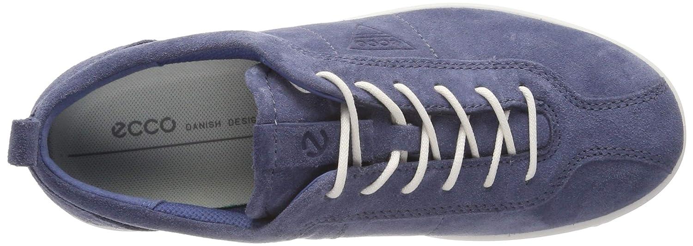 ECCO Womens Soft 1 Ladies Low-Top Sneakers