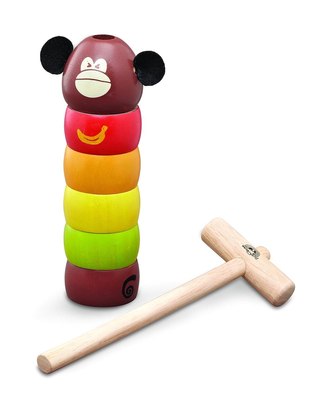 Wonderworld - Golpea al Mono, Juguete para bebé de Madera (WG1020) Wonderworld Products wg-1020