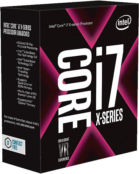 Procesador Intel Core i7-7820X X-Series
