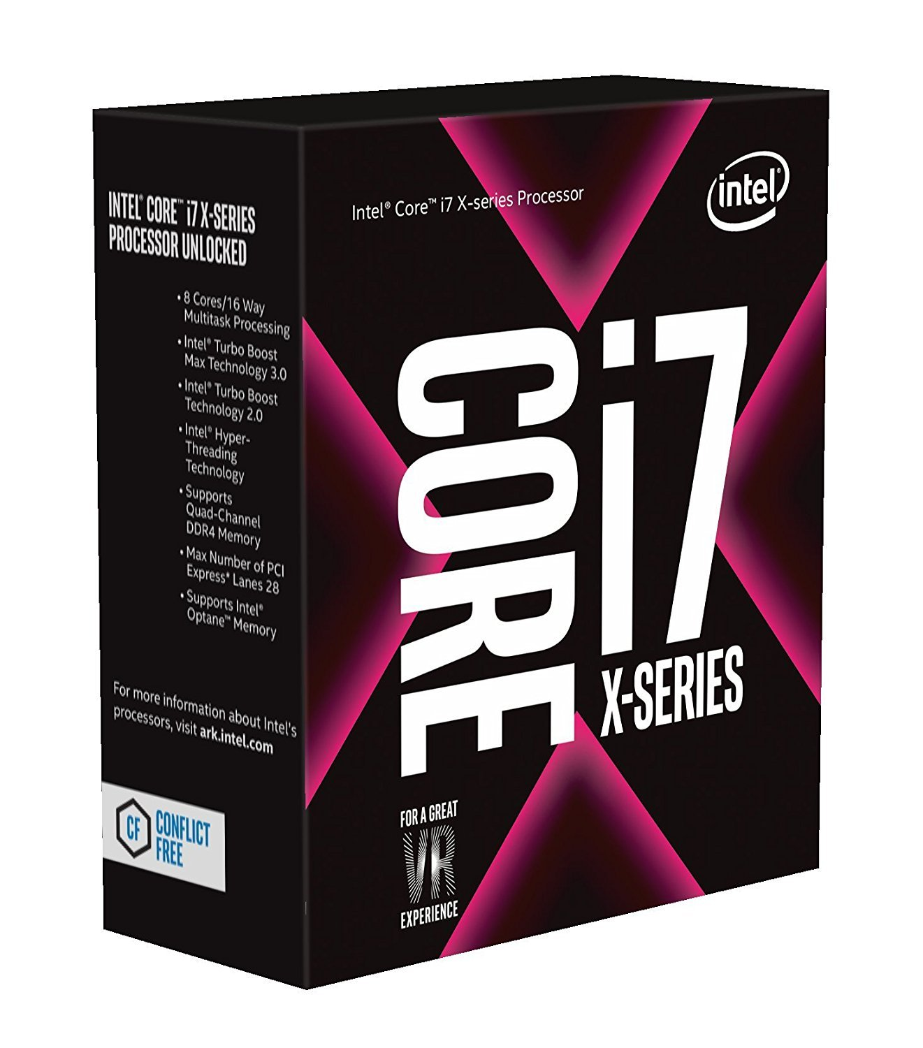 Intel Core I7-7820x X-series 8 Cores Up To 4.3 Ghz Turbo Unl