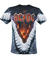 AC/DC Hell's Bells T-Shirt stampa allover